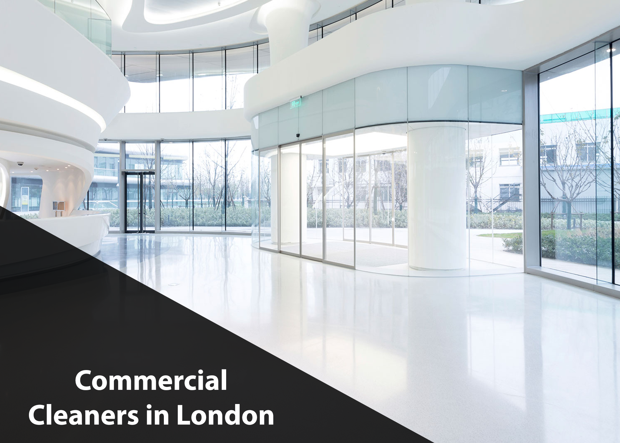 Commercial Cleaners in London