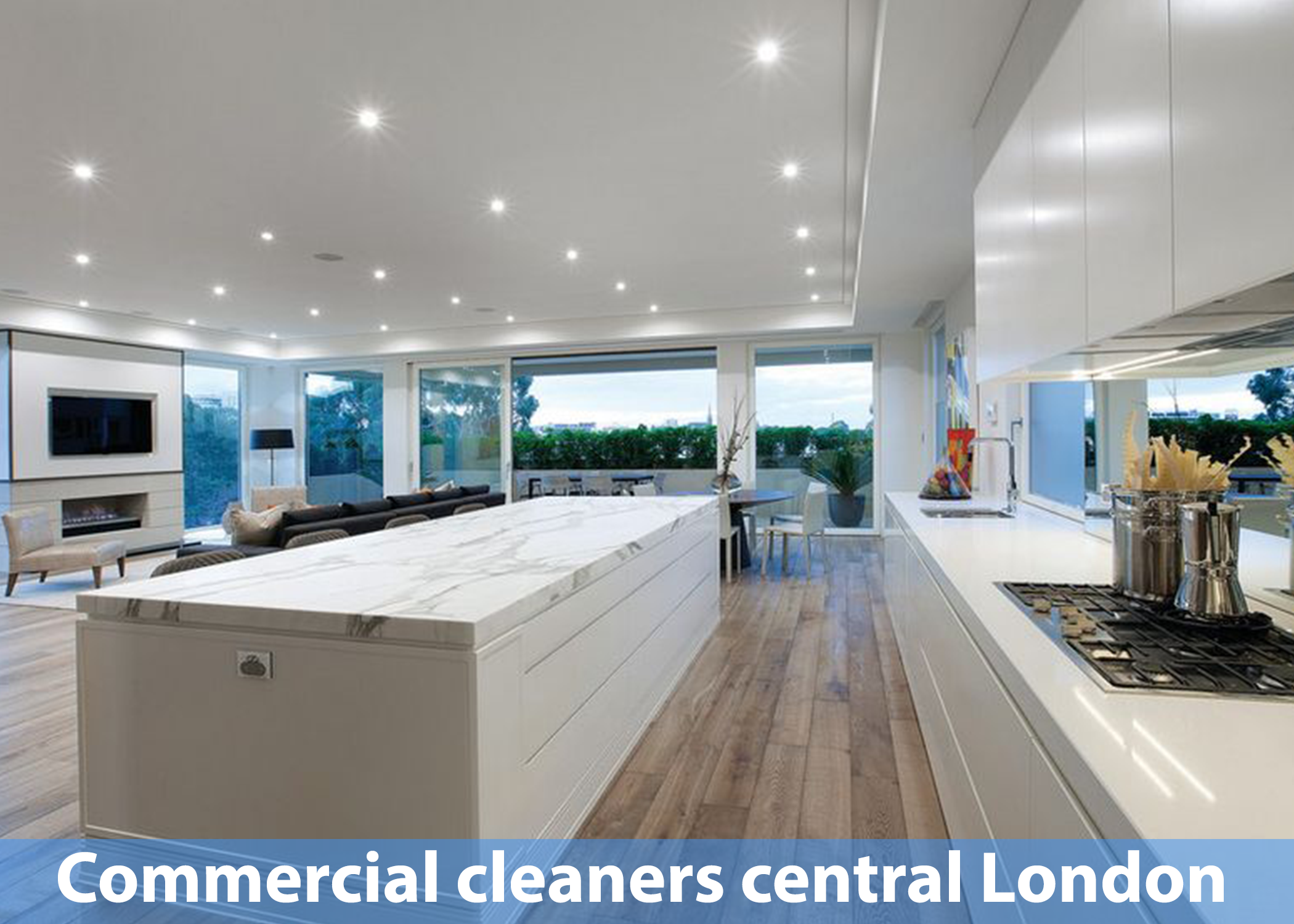 Commercial cleaners central London