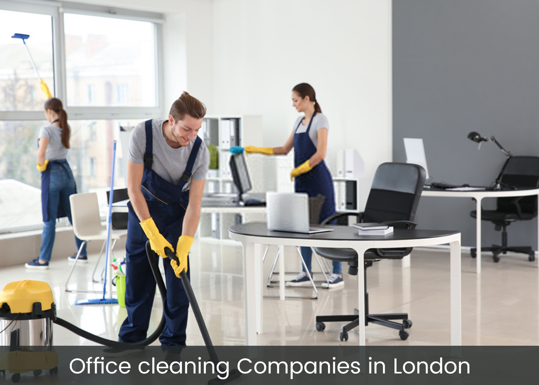 Office cleaning companies in London