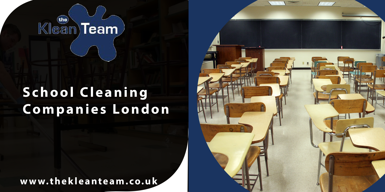 School cleaning companies London