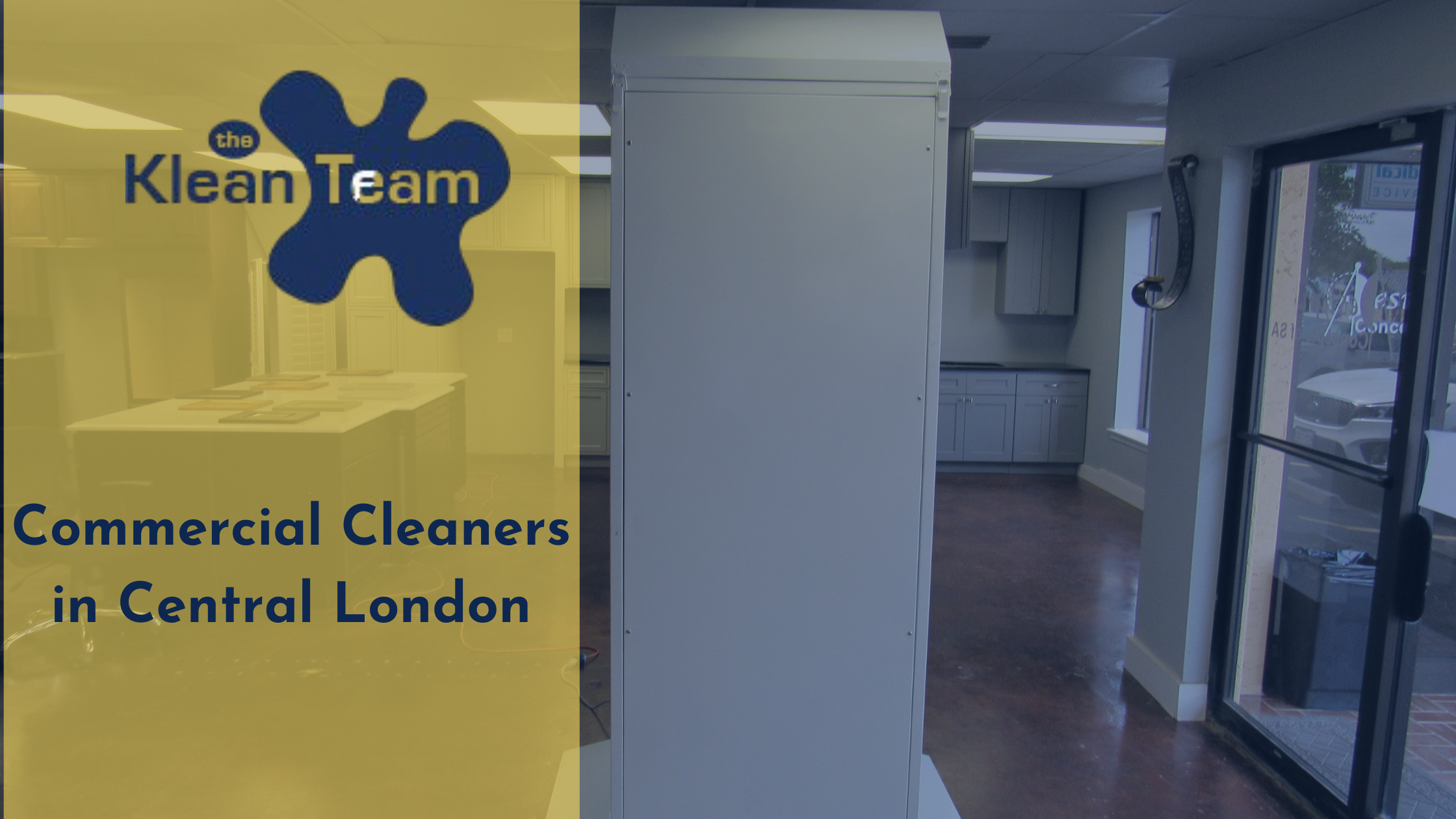 Commercial Cleaners in Central London